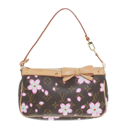 Louis Vuitton Pochette Cherry Blossom Monogram Canvas