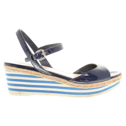 Prada Sandals of patent leather