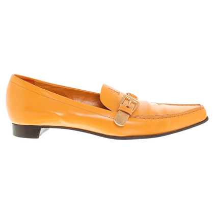 Prada Loafers in orange