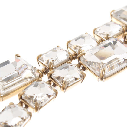 J. Crew Necklace with gemstones