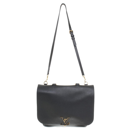 "Louis Vuitton ""Volta Taurillon leather"" in black"