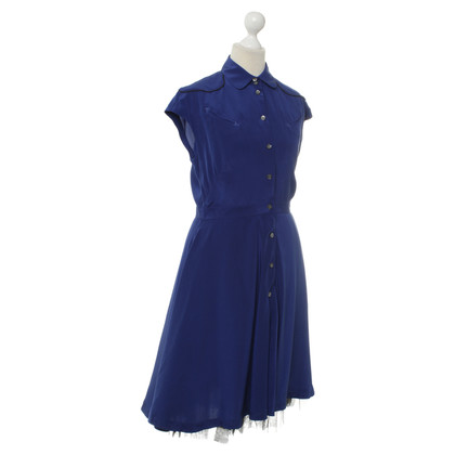 Alexander McQueen Kleid in Blau