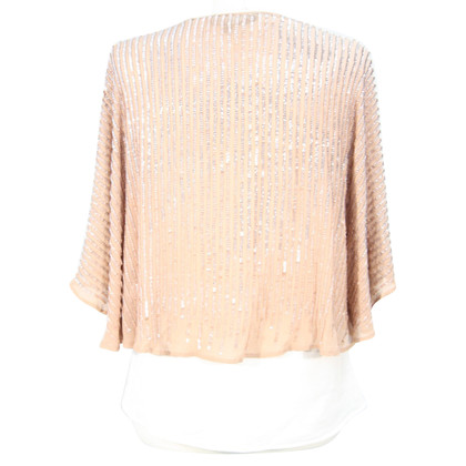 French Connection Sequin bolero gemaakt van zijde