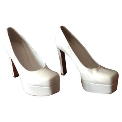 Jil Sander Peep toe pumps