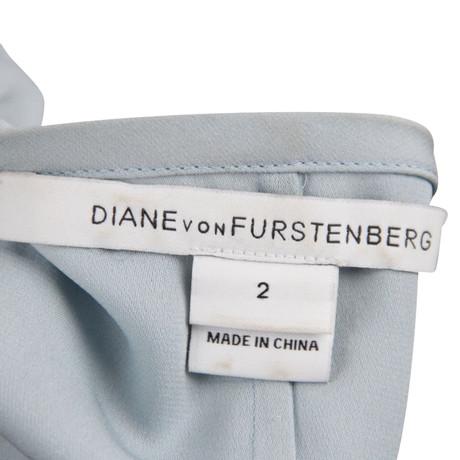 Diane von Furstenberg Bluse Blau Niedrig Versandkosten Online-Shopping-Freies Verschiffen Rabatt Beste Preise Erkunden nsiL2cYOzK