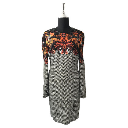 Roberto Cavalli Long Sleeve Midi Dress