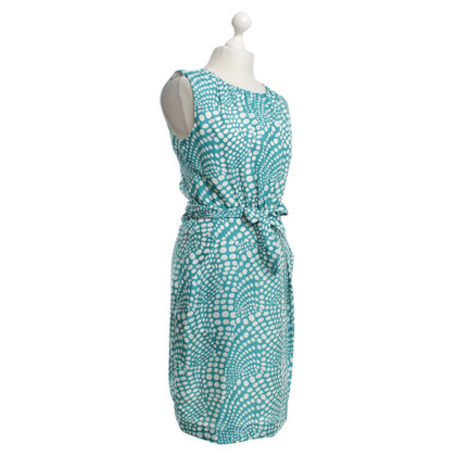 René Lezard Dress with dot pattern