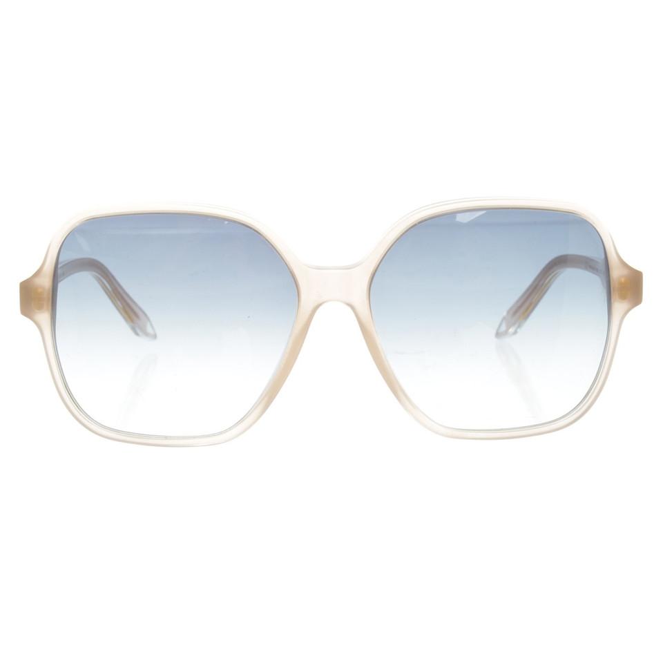 Victoria Beckham Sonnenbrille in Nude