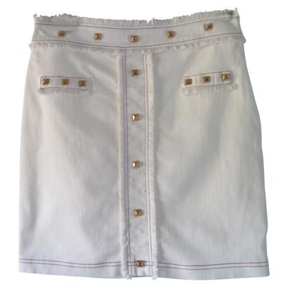 Altre marche Albiconde - denim skirt in crema
