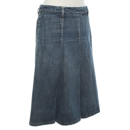Miu Miu Denim skirt in blue