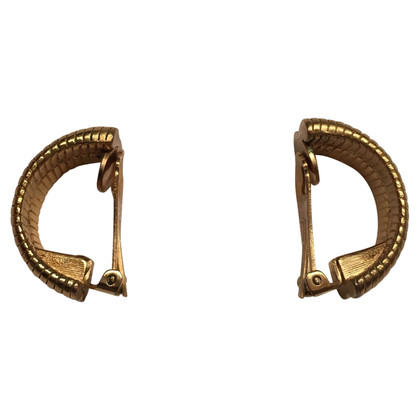 Christian Dior Halfronde vintage oorclips
