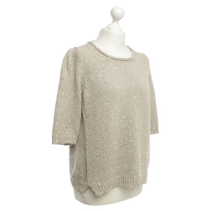 Bruno Manetti Strickpullover in Beige