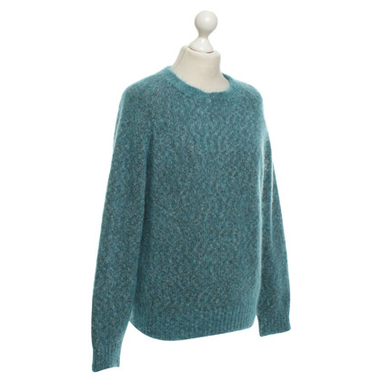 Closed Pullover in Grün
