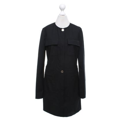 Patrizia Pepe Schede jurk in zwart