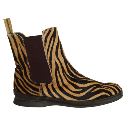 Laurèl Ankle boots with tiger print