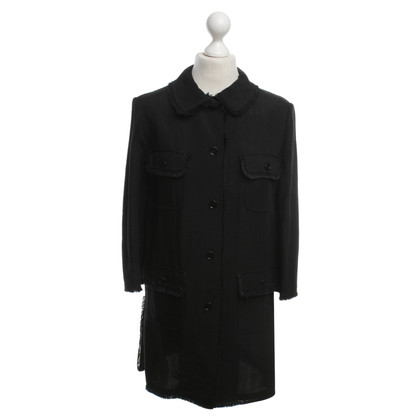 Dolce & Gabbana Black linen jacket