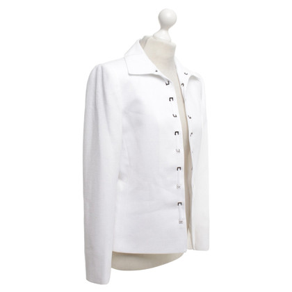 Tahari Blazer in White