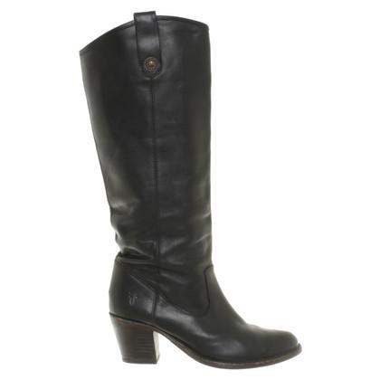 Frye Western laarzen in zwart