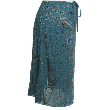 Antik Batik skirt with pearls