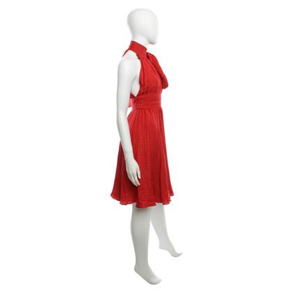 Milly Abito in seta in rosso