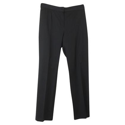 Yves Saint Laurent Pantaloni gessati