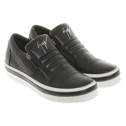 Giuseppe Zanotti Sneakers in Black / White