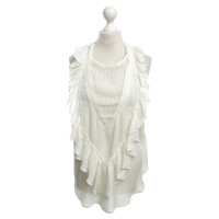 Isabel Marant top in cream white