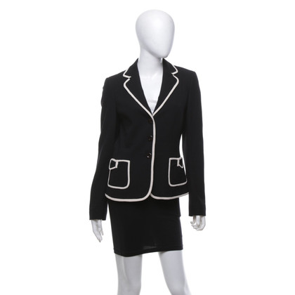 Rena Lange Blazer with white piping