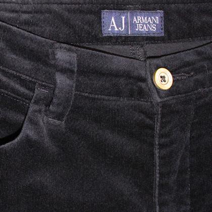 Armani Jeans Fluwelen broek