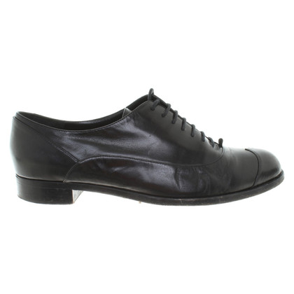 Moschino Lace-up shoes in black