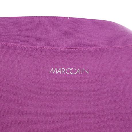 Strick Marc Cain Jacke aus Cain Violett Bolero Marc W6ddRqYw