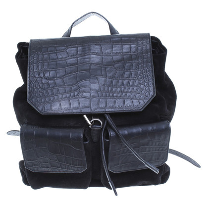 Alexander Wang Large suede leather rucksack