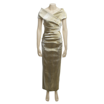 Talbot Runhof  Abendkleid in Gold