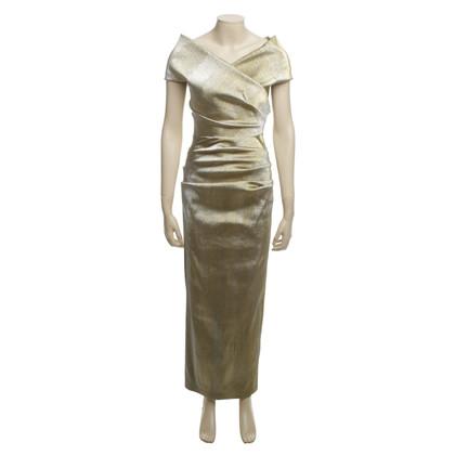 Talbot Runhof Evening dress in gold