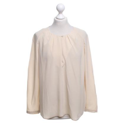 Closed Zijden blouse in nude