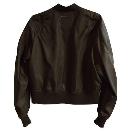 Maison Martin Margiela Black Bomber Jacket