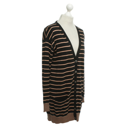 DKNY Cardigan with stripes pattern