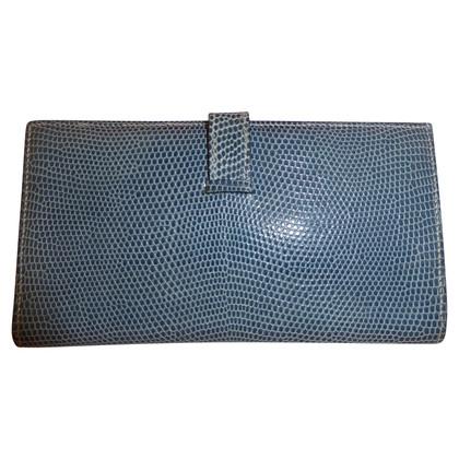 "Hermès ""Béarn"" lizard leather"