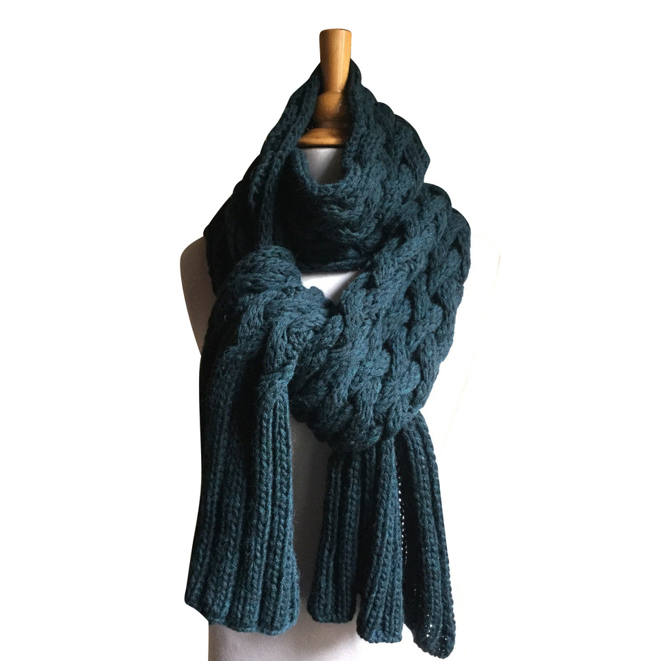 Faliero Sarti écharpe en laine