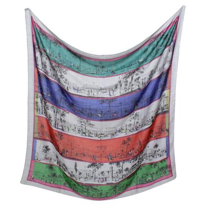 Hermès Cloth with graphic print