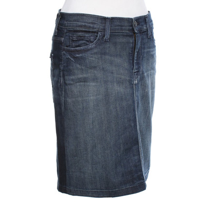 7 For All Mankind Jean rok met wassen