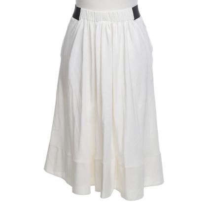 Schumacher Silk skirt in cream