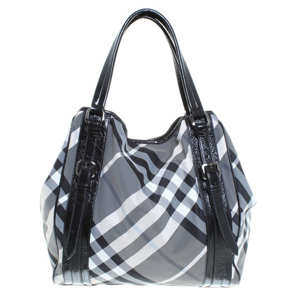 Burberry Prorsum Geruite shopper