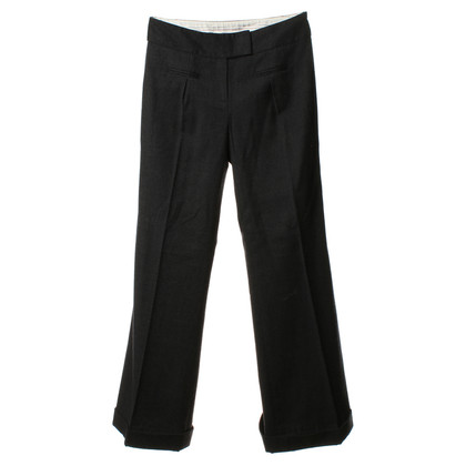 Diane von Furstenberg Marlene trousers in dark grey