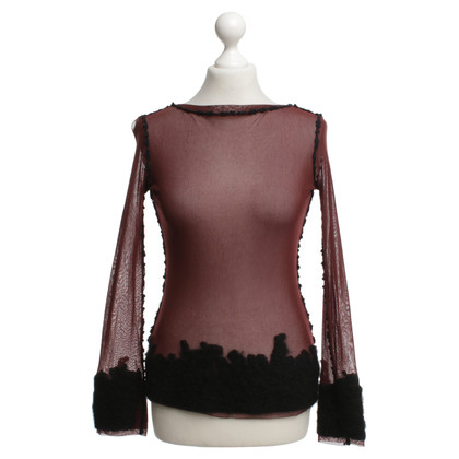 Jean Paul Gaultier Top Mesh