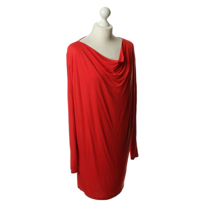 René Lezard Kleid in Rot
