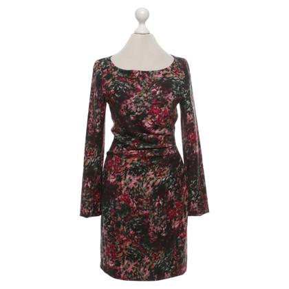 Talbot Runhof Kleid mit floralem Muster