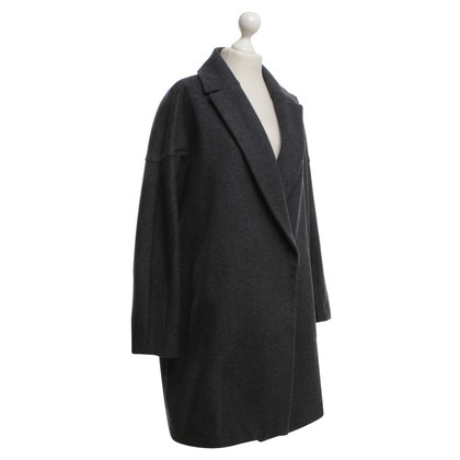 Fabiana Filippi Wool coat in dark gray