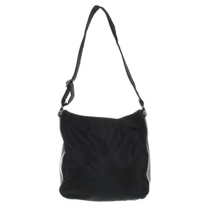 Prada Tote Bag mit Lederdetails