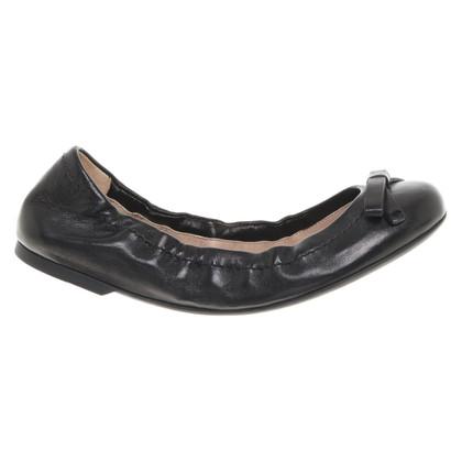 Armani Ballerinas in black